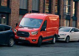 Nuevas tecnologías de estacionamiento para la Ford Transit