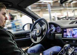 Porsche pone en marcha un programa de conducción autónoma en su centro de Luisburgo.