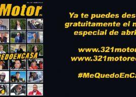 Ya te puedes descargar gratuitamente el número especial de 321 Motor de abril