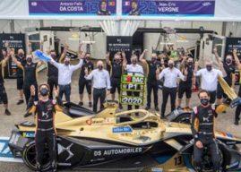 DS, Equipo a batir en la Fórmula E: 4 títulos , y 12 victorias