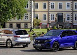 Volkswagen presenta las variantes R y eHybrid del Touareg