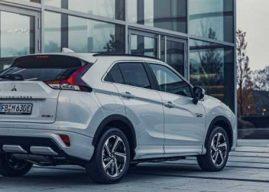 El Nuevo Mitsubishi Eclipse Cross PHEV llegará al mercado español el próximo mes de marzo