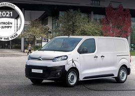 El Citroën ë-Jumpy galardón de «International Van of the Year 2021»